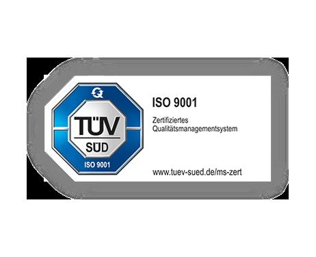 SOLCOM ist zertifiziert nach ISO 9001.