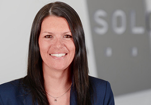 Sonja Bayer, Leiterin Personal bei SOLCOM